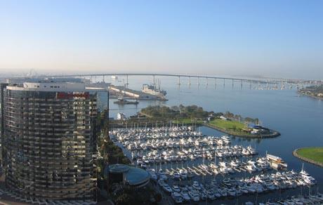 Embarcadero Marina Park South Near Downtown San Diego Ca