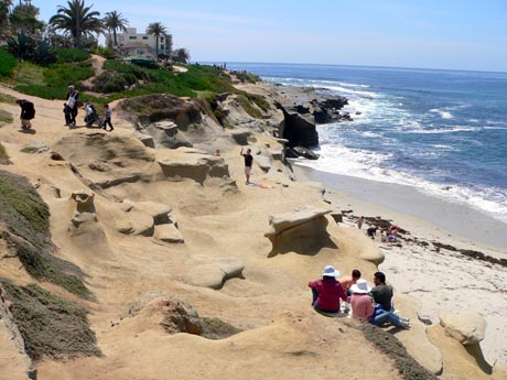The Village of La Jolla, often simply referred to as the Village, is the center—downtown area of La Jolla, a community within San Diego, on the South Coast of California. La Jolla .
