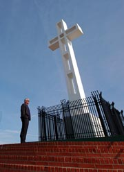 Photo of the Cross at Mount Soledad in La Jolla CA