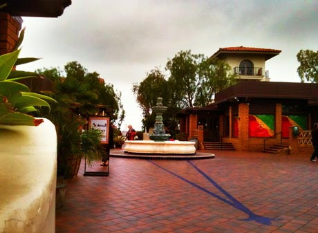 Picture of Seaport Village on the San Diego Bay